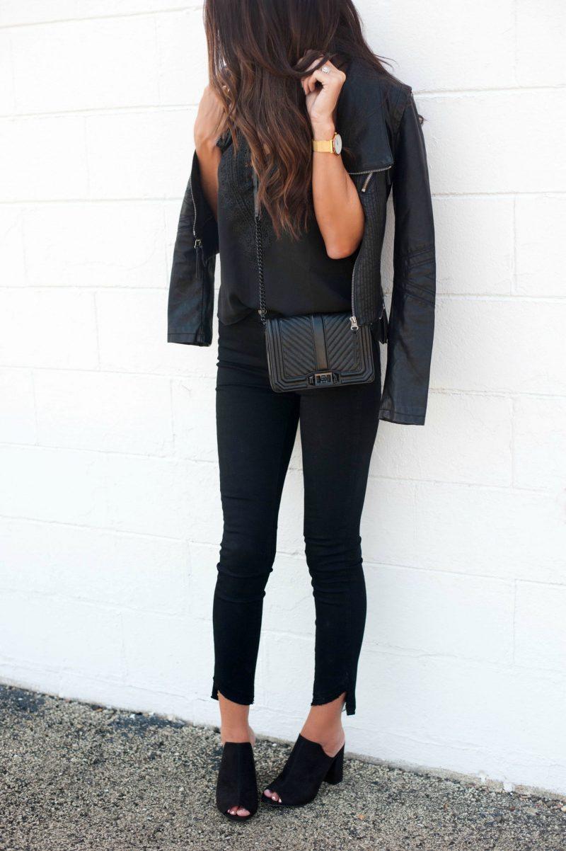 5 Ways To Wear Black Denim - Jena Green