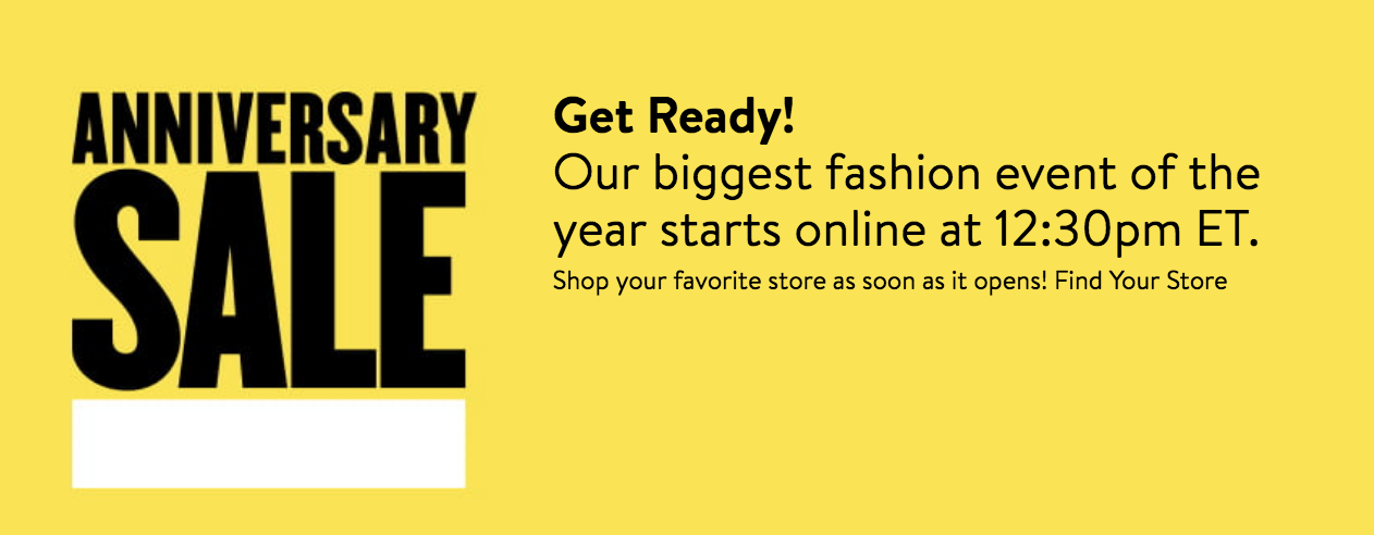 Nordstrom Anniversary Sale Public Access is here!!