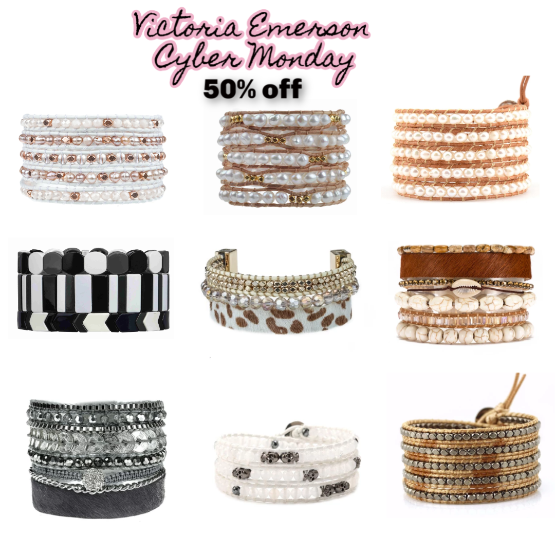Victoria Emerson 50% off for Cyber Monday